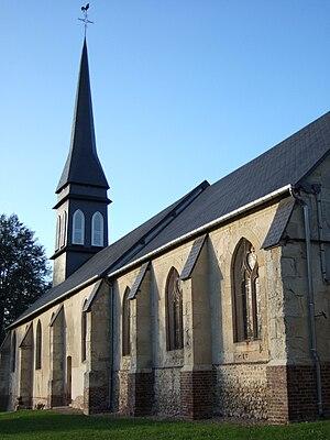 Saint-Julien-de-Mailloc - Image: Eglise de Saint Julien de Mailloc