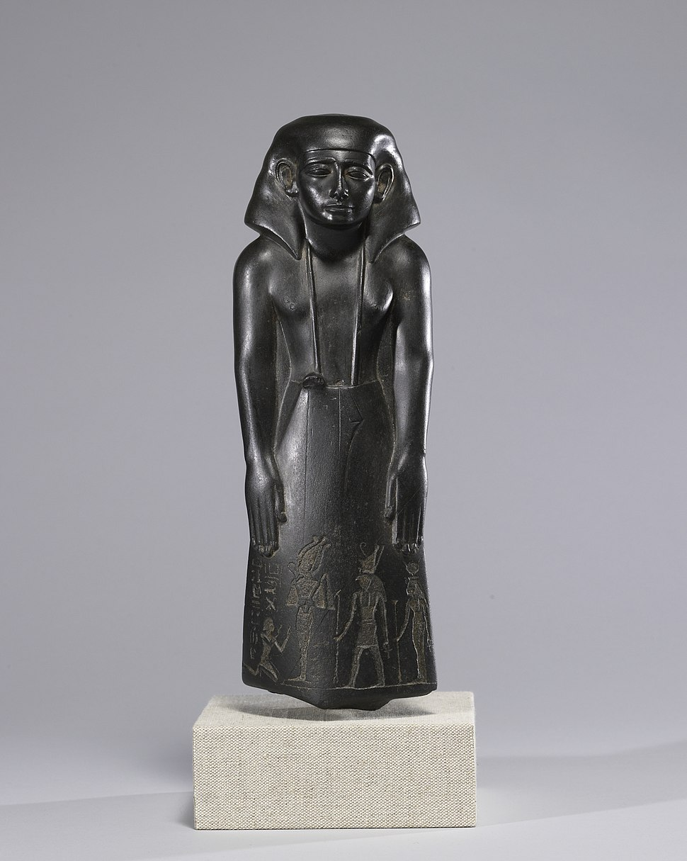 Egyptian - Statue of a Vizier, Usurped by Pa-di-iset - Walters 22203