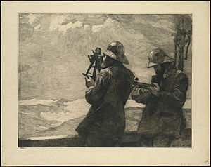 Ship's bell - Eight Bells (1887) by Winslow Homer