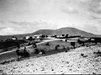 Ein Zeitim - View of Ein Zeitim. 1947