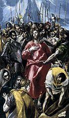 The Disrobing of Christ. Upton House version