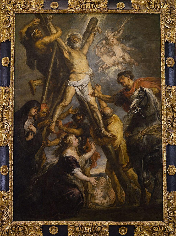 El Martirio del apóstol San Andrés, PPRubens, Fundación Carlos de Amberes