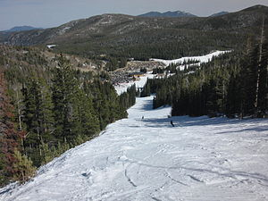 English: View of Eldora Mountain Ski Resort Ba...