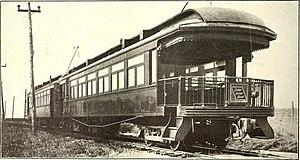 Cedar River Railroad - Parlor car in 1915