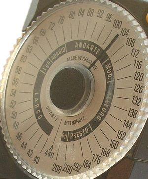 Electronic metronome, Wittner model