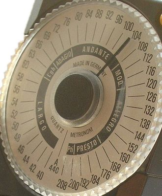 Tempo - Electronic metronome, Wittner model