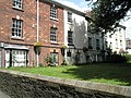 Elegant houses behind St Peter and St Mary Magdalene, Barnstaple - geograph.org.uk - 936668.jpg