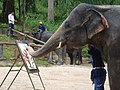 Elephant 'Painting' - panoramio.jpg