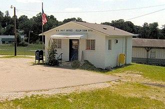 Elgin, Tennessee - Post office in Elgin