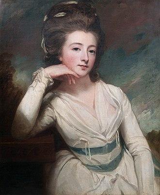 Montagu Burgoyne - Image: Elizabeth Burgoyne, by George Romney