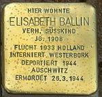 Ellrich-Stolperstein-Elisabeth-Ballin-CTH.JPG