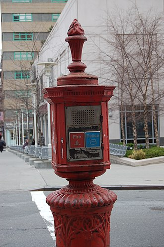 Emergency service - Emergency Telephone in New York City