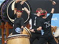 Emeryville Taiko performing at 2008 SFIDBF 14.JPG