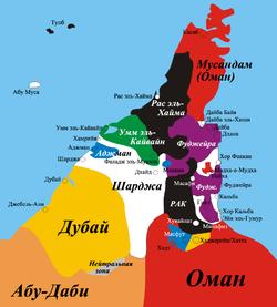 Объединённые Арабские Эмираты — Википедия