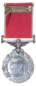Медаль за доблесть империи, Георг VI reverse.png