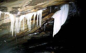 Nordland - Inside Vikgrotta (cave) in Saltdal