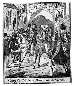 Entering of Soliman Pasha, 21 August 1848