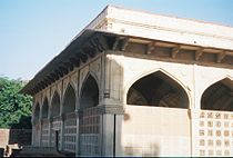 Entrance on the east face of the Chausath Khamba.JPG