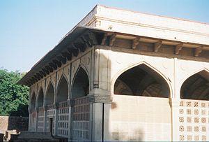 Chausath Khamba - Front view of Chausath Khamba