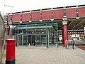 Entrance to Salford Central Station - geograph.org.uk - 1470737.jpg