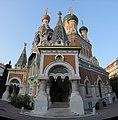 Entree principale de la cathédrale Saint-Nicolas à Nice 2.jpg