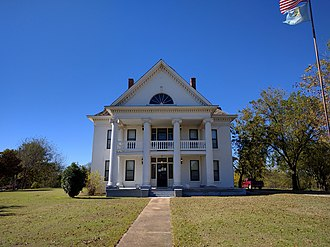 National Register of Historic Places listings in Garvin County, Oklahoma - Image: Erin Springs Mansion