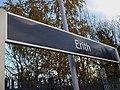 Erith station signage.JPG
