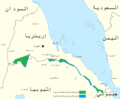Eritrean–Ethiopian War Map 1998 ar.png