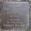 Stolperstein für Ernst Friedrich Wetzstein