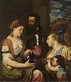 Ernst Friedrich von Liphart - Allegorie des Alfonso d'Avalos, Marqués del Vasto (nach Tizian) - 11685 - Bavarian State Painting Collections.jpg