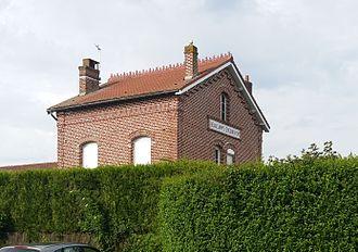 Beaucamps-Ligny - Image: Erquinghem le Sec Ancienne gare de Beaucamps Erquinghem