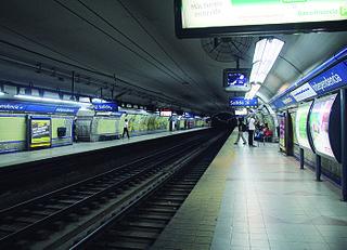 Independencia (Line C Buenos Aires Underground) Buenos Aires Underground station