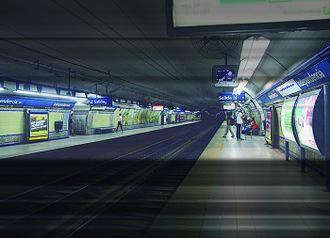 Independencia (Line C Buenos Aires Underground) - Image: Estación Independencia Subte de Buenos Aires (GCBA)