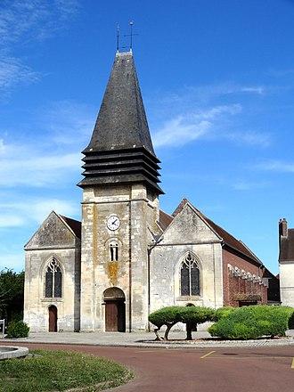 Estrées-Saint-Denis - The church in Estrées-Saint-Denis