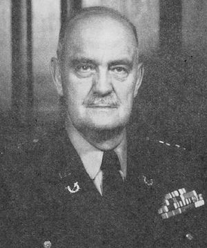 Eugene M. Caffey - Caffey in 1954 after his appointment as the Army's Judge Advocate General