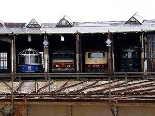 Augsburg Railway Park railway museum