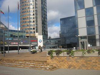 Europa Tower - Image: Europa Square in Vilnius