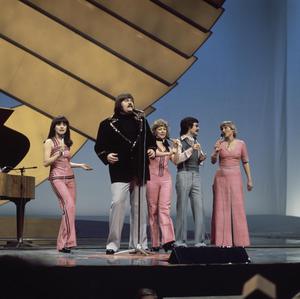 Pump-Pump - Image: Eurovision Song Contest 1976 rehearsals Finland Fredi & Ystävät 5