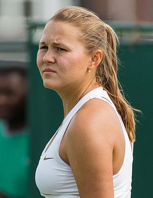 Evgeniya Rodina - Rodina at the 2015 Wimbledon Championships
