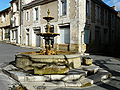 Excideuil fontaine Bugeaud (4).JPG