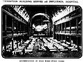 Exhibition Building serves as Influenza Hospital, 1919.jpg