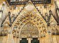 Exterior of St. Vitus Cathedral Prague 1.JPG