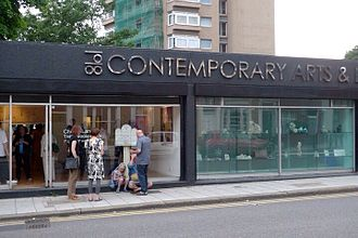 Railton Road - Image: External view of 198 Contemporary Arts and Learning, 2010