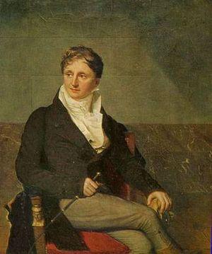 Jean-Gabriel Eynard - Portrait of Eynard by Firmin Massot.