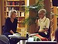 Författarintervju Åbo stadsbibliotek Laura Kokko 2013.JPG