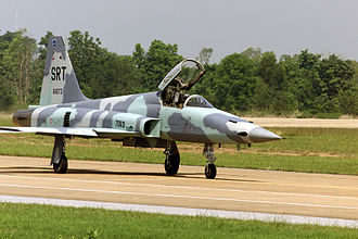 Royal Thai Air Force - An F-5E with the 904 Aggressor Squadron