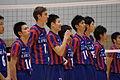 F.C. Tokyo Volleyball players.jpg