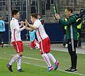FC Salzburg gegen Paris St. Germain ( Youth League-21. Februar 2017) 09.jpg