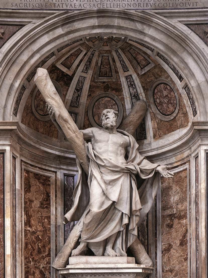 F Duquesnoy San Andr%C3%A9s Vaticano
