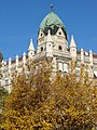 Facade with Trees - Pest Side - Budapest - Hungary - 02.jpg